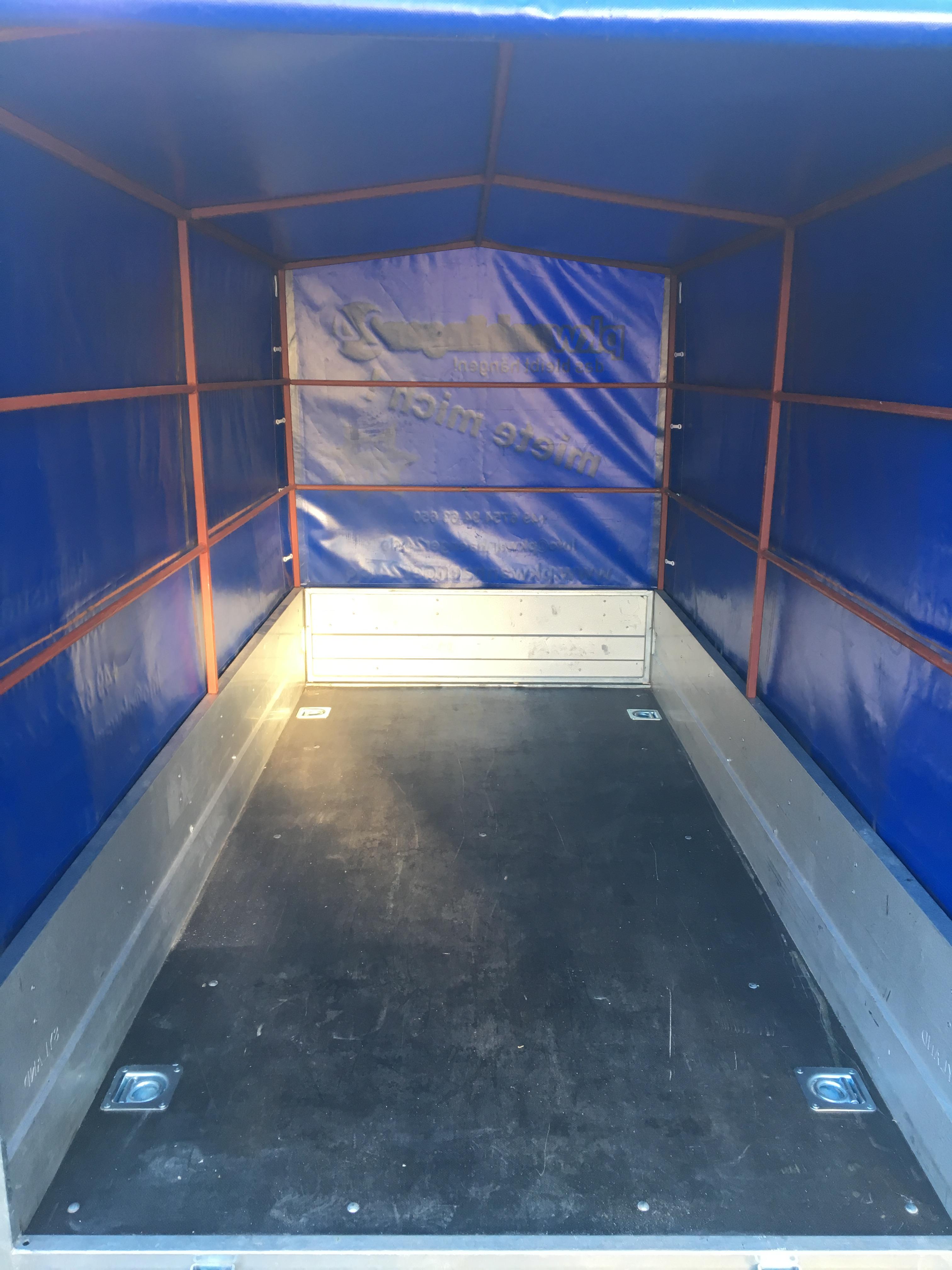 Tieflader 252 x 125 x 140cm 750kg